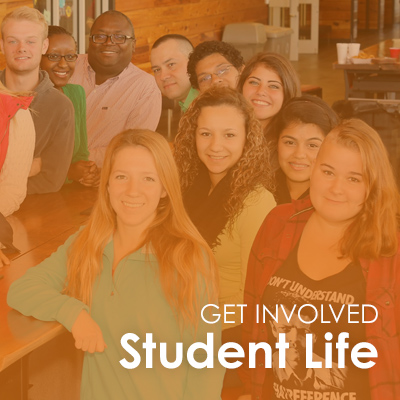Get Involved in Student Life