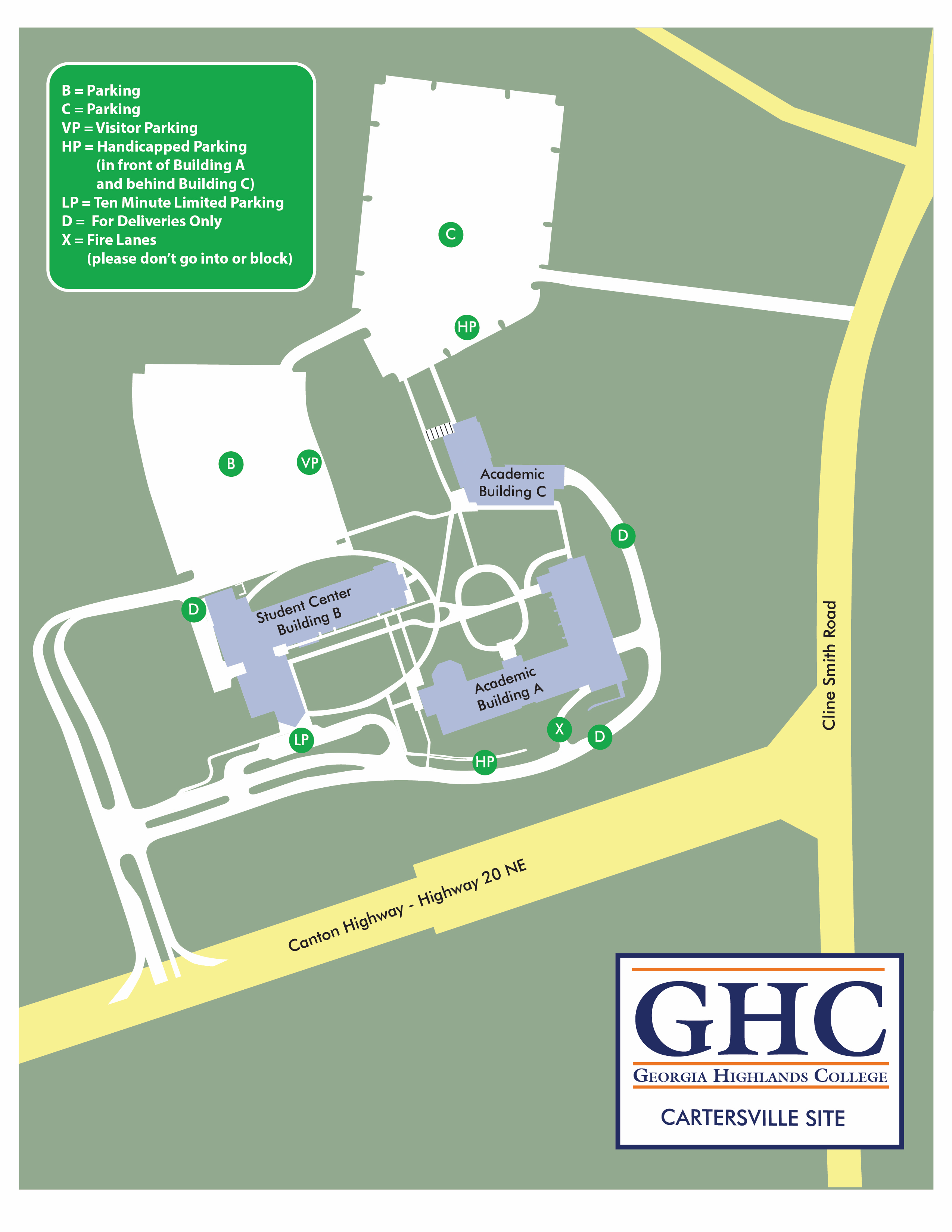cartersville site map