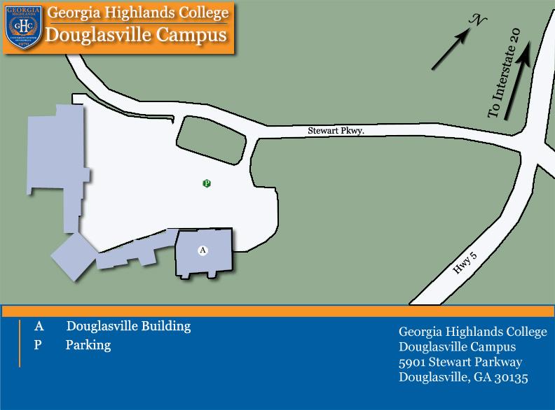Douglasville Site Georgia Highlands College - Georgia map douglasville