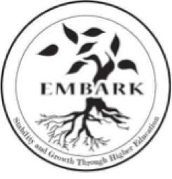 Embark logo: Stability and Growth through Higher Education