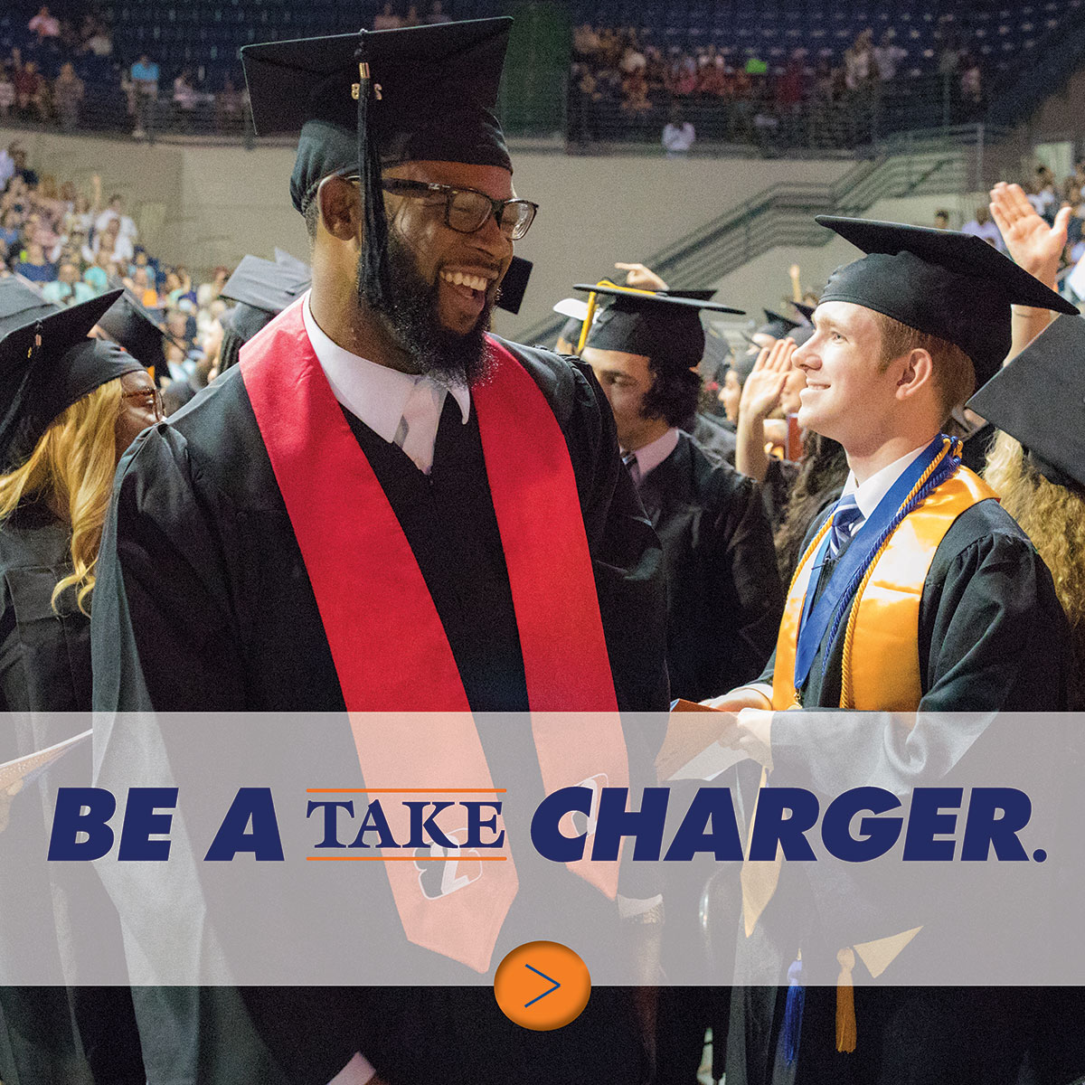Be a take charger.