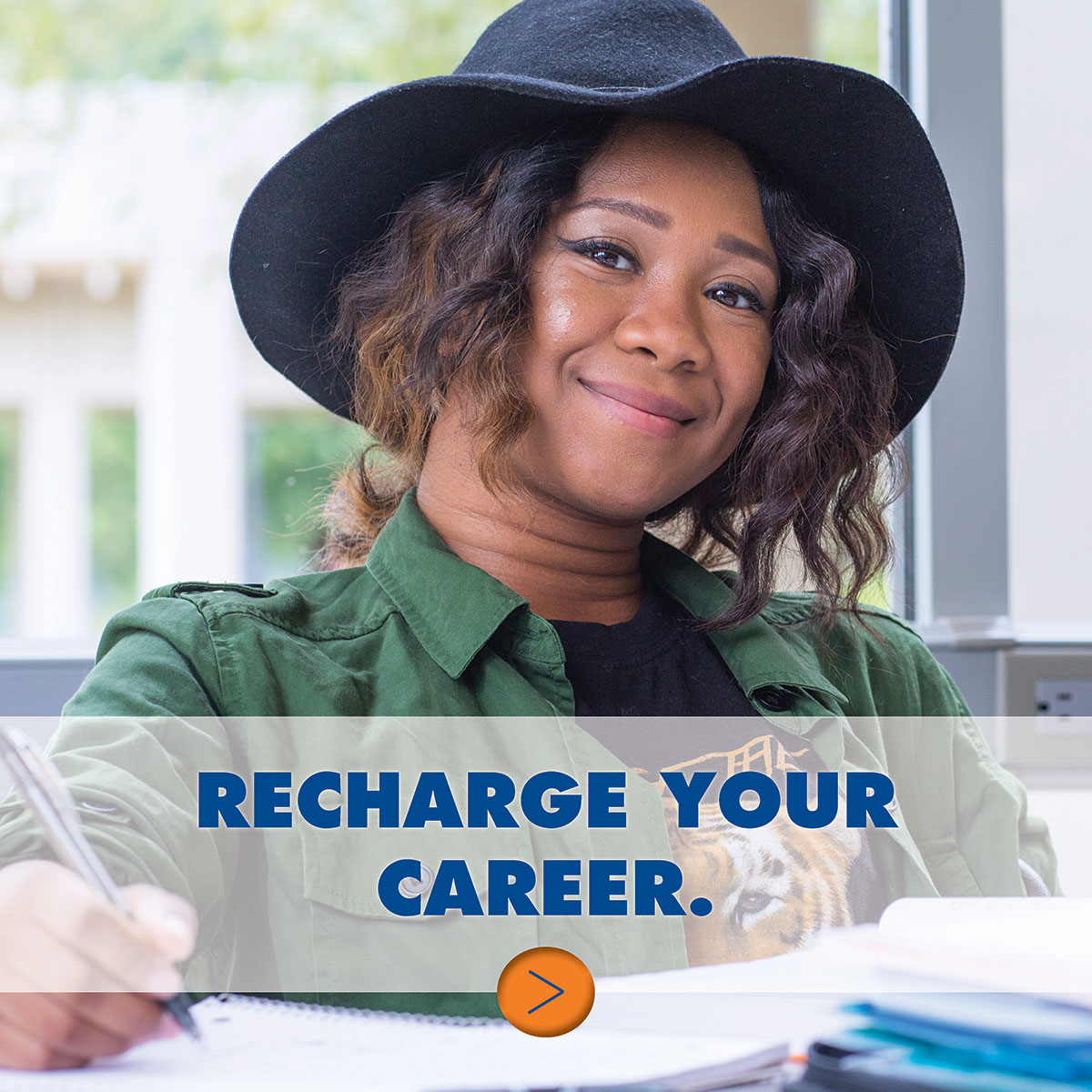 Weekend and night classes for adult learners... Recharge your career. Need to work while you take classes? You can do that!