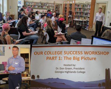 don leading workshop