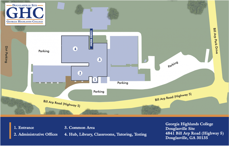 Douglasville Site Map