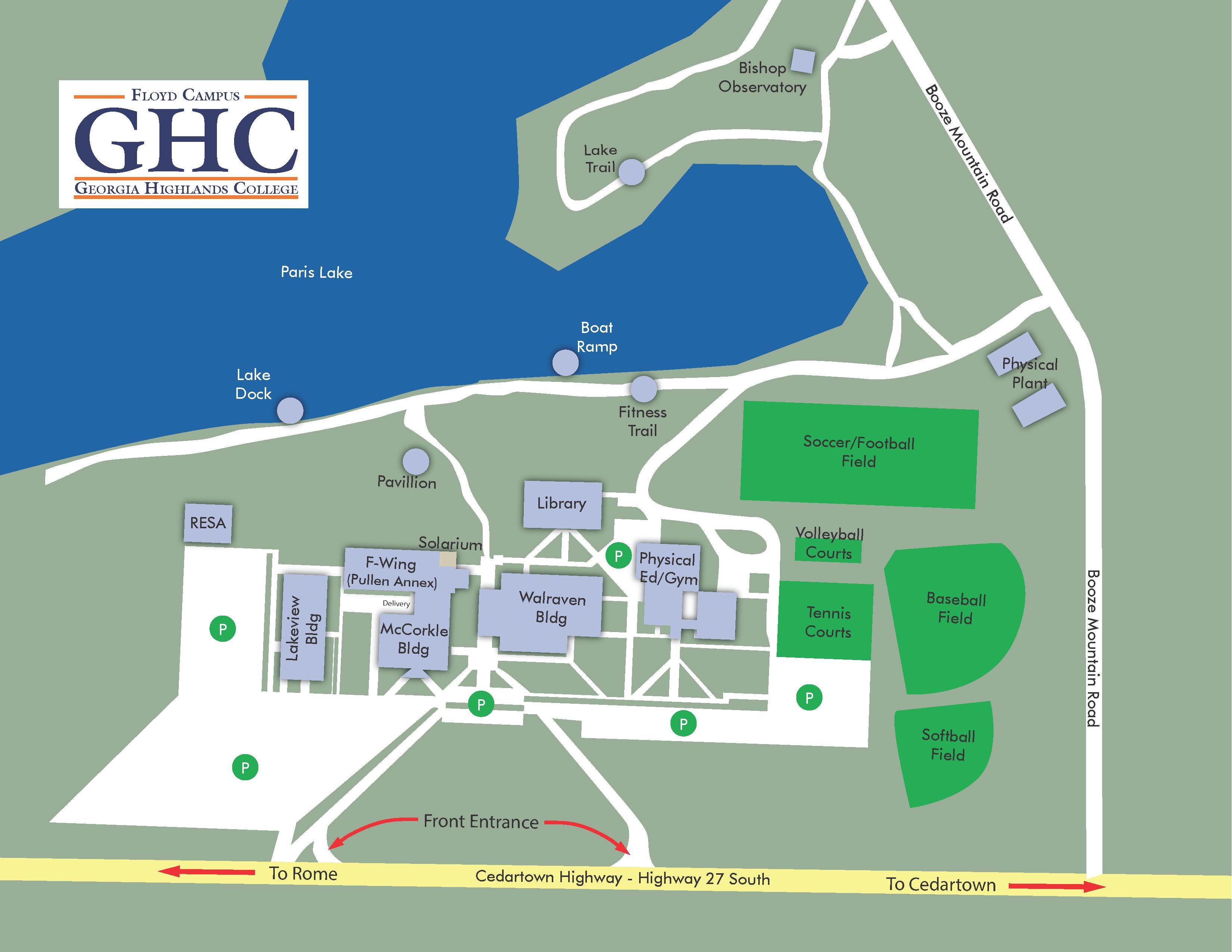 floyd campus map